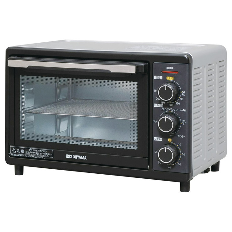 当店一番人気 新作続 送料無料 アイリスオーヤマ コンベクションオーブン FVC-D15B-S
