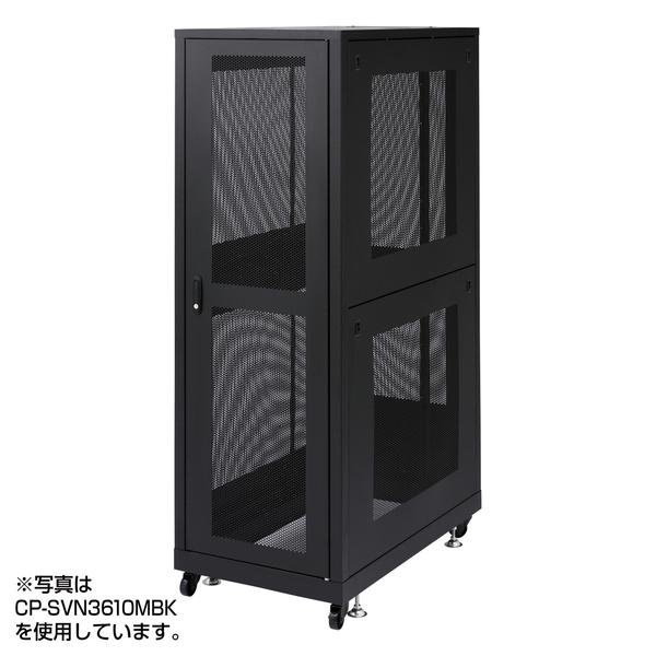 サンワサプライ 19インチサーバーラックメッシュパネル仕様(36U) CP-SVN3690MBK()【送料無料】