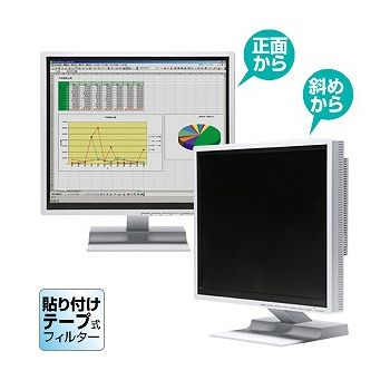 サンワサプライ のぞき見防止フィルター(23.0型ワイド) CRT-PF230WT(代引不可)【送料無料】
