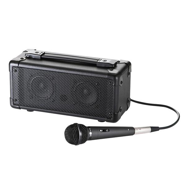 サンワサプライ マイク付き拡声器スピーカー MM-SPAMP【送料無料】 (代引不可)