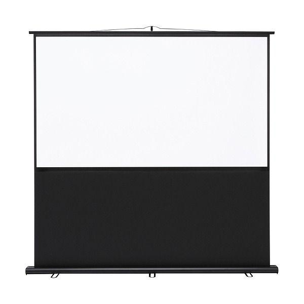 サンワサプライ プロジェクタースクリーン(床置き式) PRS-Y80HD(代引不可)【送料無料】