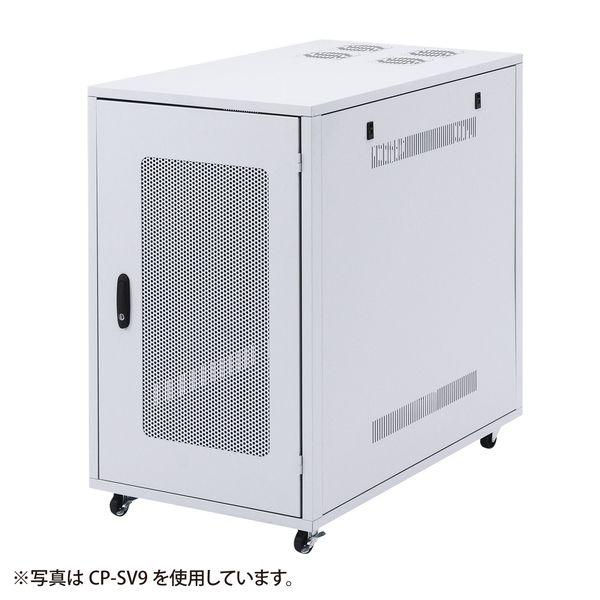 サンワサプライ 小型19インチサーバーラック(18U) CP-SV8N(代引不可)【送料無料】