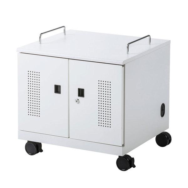 サンワサプライ CAI-CAB105W ノートパソコン収納キャビネット 6台収納(代引不可)【送料無料】
