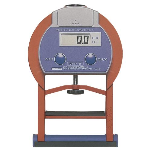 竹井機器工業 デジタル握力計 T.K.K.5401【送料無料】