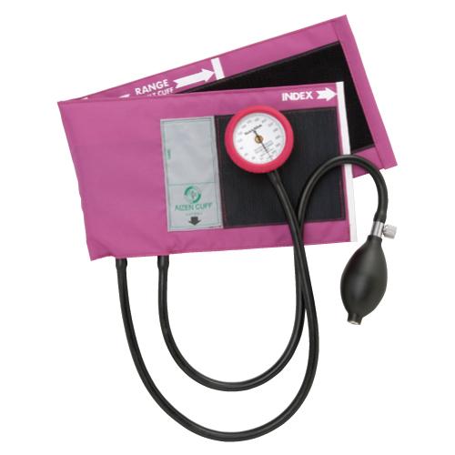 買い物 送料無料 休日 アイゼンコーポレーション ギヤフリーアネロイド血圧計 GF700-02 カラー:マゼンタ