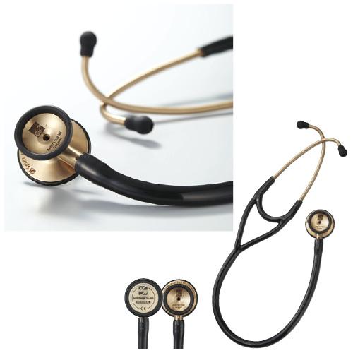 スピリット・メディカル社 聴診器 クーパーDX カラー:ブラック CK-CU747PF【送料無料】