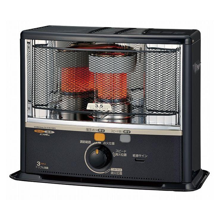 暖房 石油ストーブ SX-E3519WY(HD)よごれま栓タンク 暖房器具(代引不可)【送料無料】