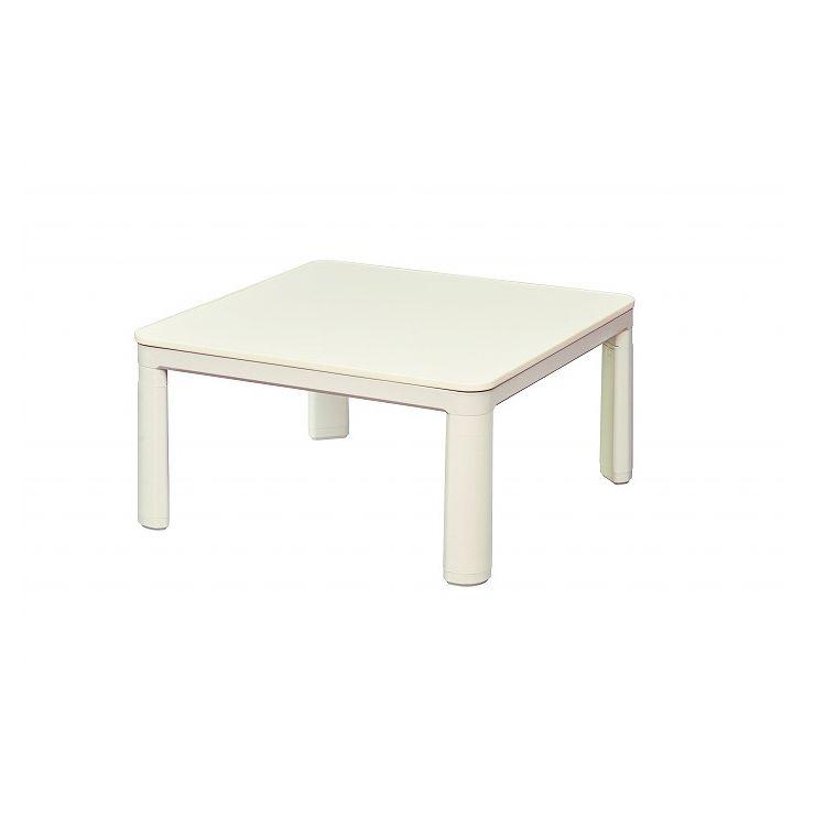 丸栄木工所 こたつ テーブル 正方形 カジュアルコタツ 75×75cm CA-753V(代引不可)【送料無料】