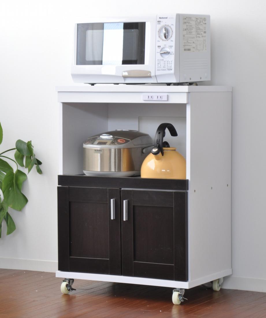 キッチンカウンター レンジボード キッチン収納 リアナン 幅60cm Lhiannan(代引き不可)【int_d11】