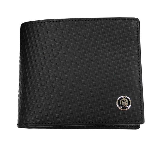 DUNHILL ダンヒル MICRO D-EIGHT 二つ折り財布(小銭入れ有) L2V332A 革小物【送料無料】