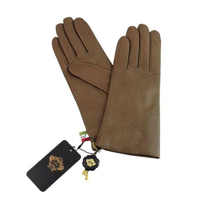 OROBIANCO オロビアンコ レディース手袋 ORL-1582 Leather glove 羊革 ウール MOCHA 7(20cm) 手袋 ギフト プレゼント クリスマス【送料無料】