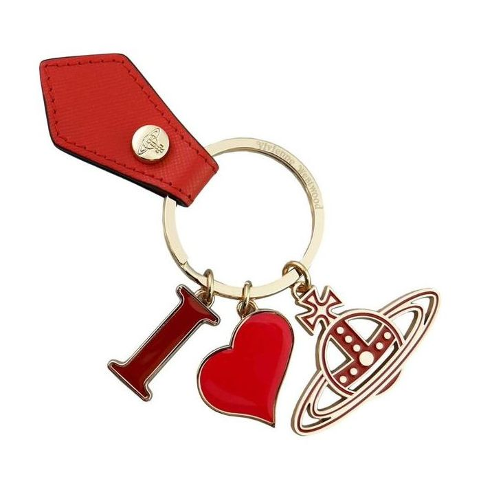 ヴィヴィアンウエストウッド Vivienne Westwood キーリング I LOVE ORB GADGET 321566 269 ORANGE 鍵 母の日 父の日【送料無料】