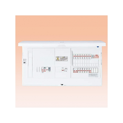パナソニック 分電盤 蓄熱暖房器・エコキュート(エコキュート用ブレーカ容量20A)・IH リミッタースペースなし BHS85183T25