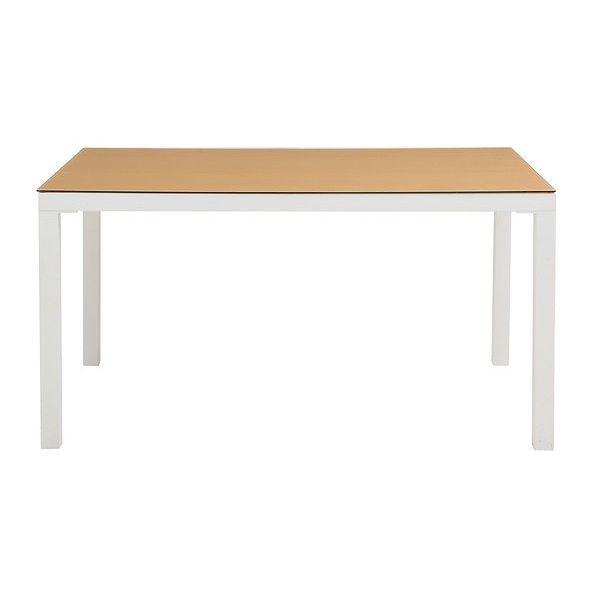 あずま工芸 ARGANO(アルガノ) ダイニングテーブル135 (ナチュラル)(代引不可)【送料無料】
