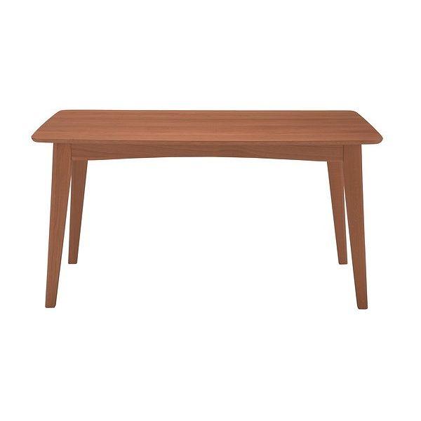 あずま工芸 AZUL(アズール) ダイニングテーブル135 (ブラウン)(代引不可)【送料無料】【int_d11】