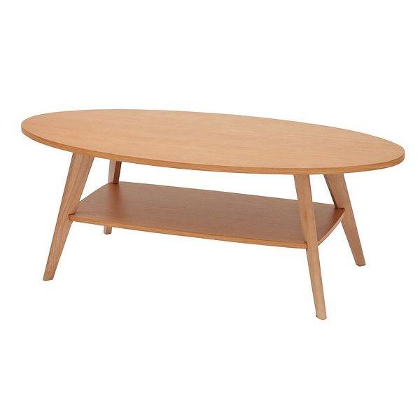 あずま工芸 CREPE(クレープ) リビングテーブル110 (ナチュラル)(代引不可)【送料無料】【int_d11】