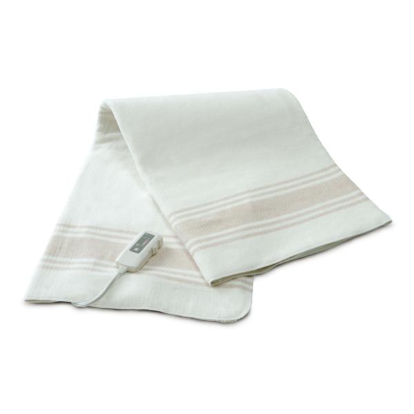 電磁波99%カット オーガニックコットン電気掛け敷き毛布 手洗いOK 電気掛け敷きオーガニックコットン毛布 ZB-OC101SGT(代引不可)【送料無料】