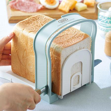 送料無料 Toffy トフィー 食パンスライスガイド 売り込み 至上 K-KU8-PA 食パン パン 朝食 カット ホットサンド スライス ガイド
