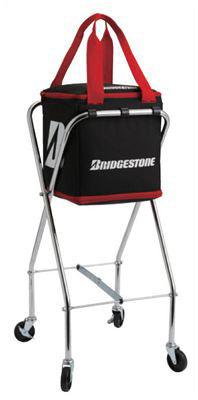BridgeStone(ブリジストン) キャスター付ボールバッグ TAB901 ブラック サイズ【送料無料】