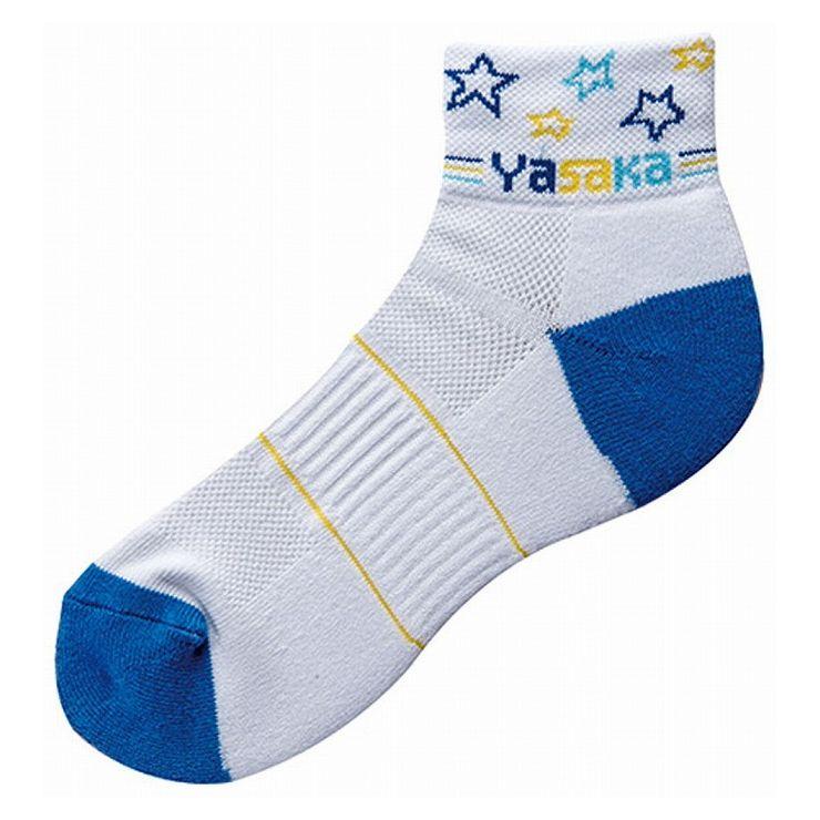 ヤサカ(Yasaka) 卓球ソックス LINEAR STAR Y SOCKS リニアスター Yソックス E158 【カラー】ブルー 【サイズ】M(23.0~25.0cm)【ポイント10倍】