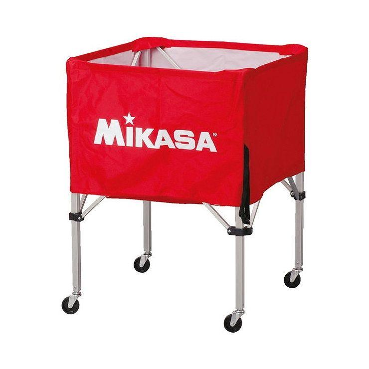 ミカサ(MIKASA) 器具 ボールカゴ 箱型・中(フレーム・幕体・キャリーケース3点セット) BCSPS 【カラー】レッド【送料無料】