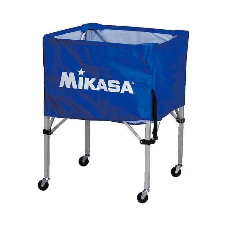 ミカサ(MIKASA) 器具 ボールカゴ 箱型・中(フレーム・幕体・キャリーケース3点セット) BCSPS 【カラー】ブルー【送料無料】