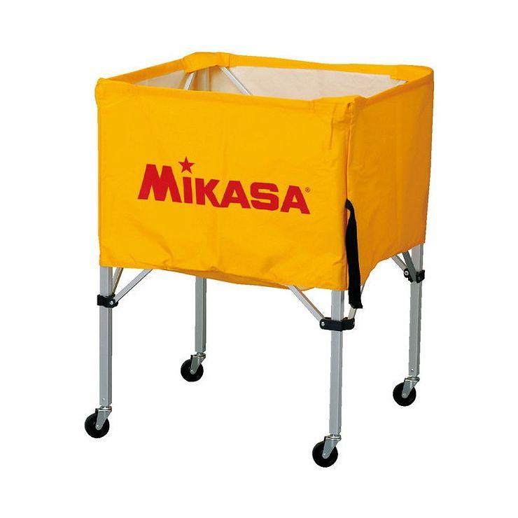 ミカサ(MIKASA) 器具 ボールカゴ 箱型・中(フレーム・幕体・キャリーケース3点セット) BCSPS 【カラー】イエロー【送料無料】