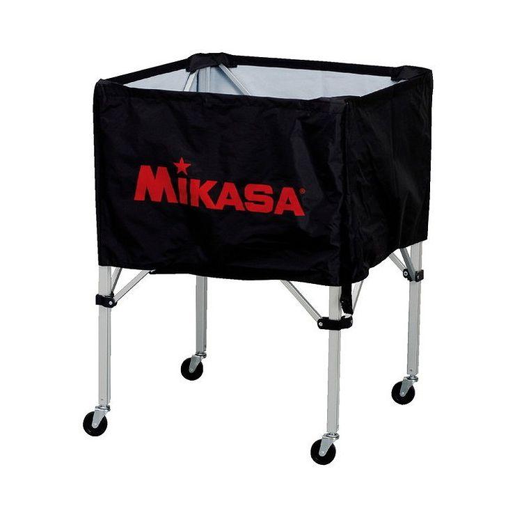 ミカサ(MIKASA) 器具 ボールカゴ 箱型・中(フレーム・幕体・キャリーケース3点セット) BCSPS 【カラー】ブラック【送料無料】