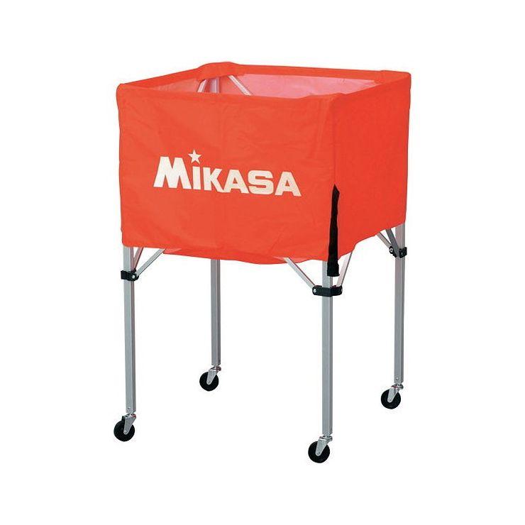 ミカサ(MIKASA) 器具 ボールカゴ 箱型・中(フレーム・幕体・キャリーケース3点セット) BCSPS 【カラー】オレンジ【送料無料】