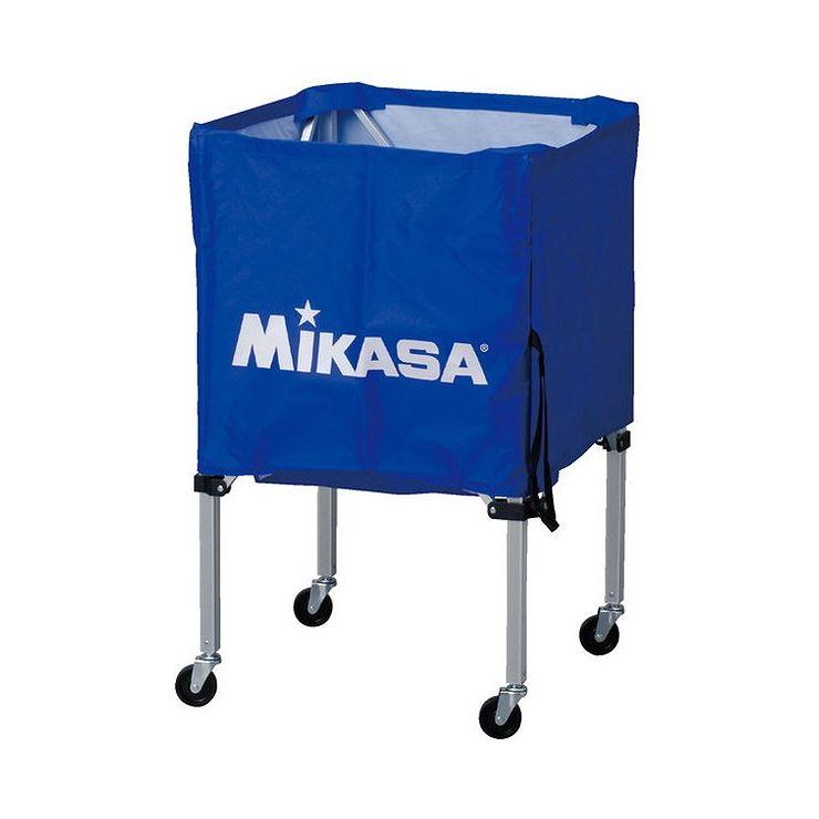 ミカサ(MIKASA) 器具 ボールカゴ 箱型・小(フレーム・幕体・キャリーケース3点セット) BCSPSS 【カラー】ブルー【送料無料】