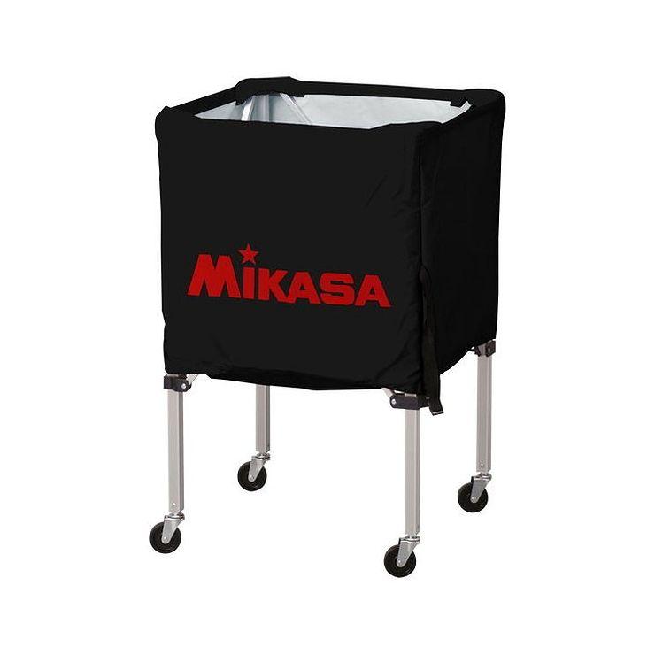 ミカサ(MIKASA) 器具 ボールカゴ 箱型・小(フレーム・幕体・キャリーケース3点セット) BCSPSS 【カラー】ブラック【送料無料】