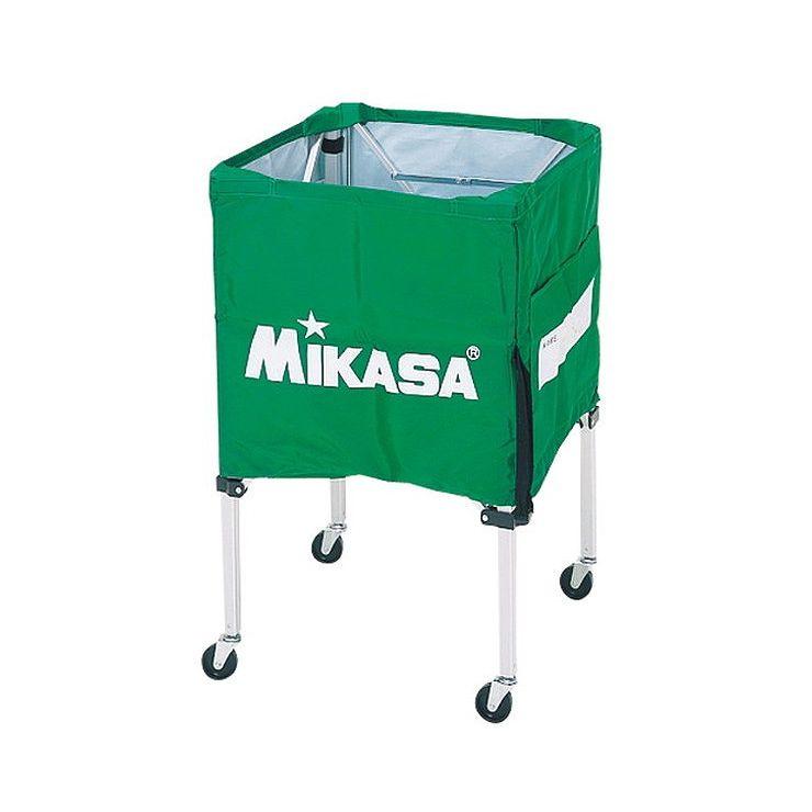 ミカサ(MIKASA) 器具 ボールカゴ 箱型・小(フレーム・幕体・キャリーケース3点セット) BCSPSS 【カラー】ライトグリーン【送料無料】