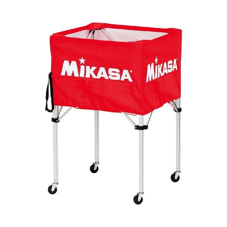 ミカサ(MIKASA) 器具 ボールカゴ 箱型・大(フレーム・幕体・キャリーケース3点セット) BCSPH 【カラー】レッド【送料無料】