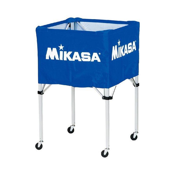 ミカサ(MIKASA) 器具 ボールカゴ 箱型・大(フレーム・幕体・キャリーケース3点セット) BCSPH 【カラー】ブルー【送料無料】