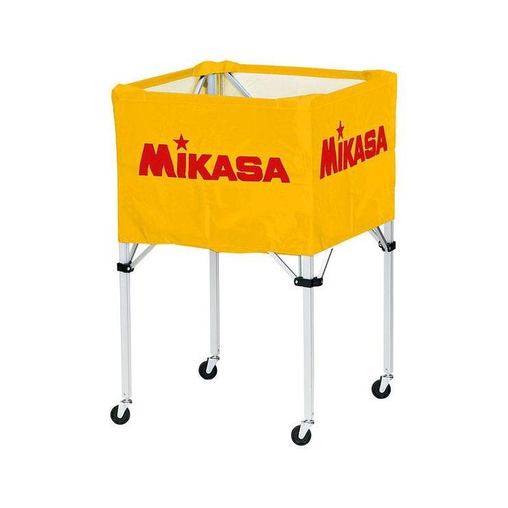 ミカサ(MIKASA) 器具 ボールカゴ 箱型・大(フレーム・幕体・キャリーケース3点セット) BCSPH 【カラー】イエロー【送料無料】
