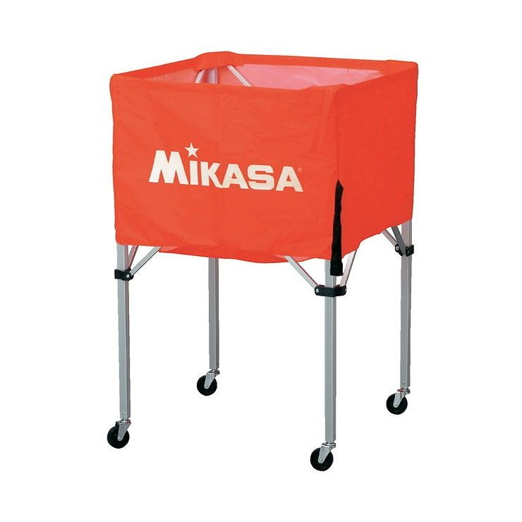 ミカサ(MIKASA) 器具 ボールカゴ 箱型・大(フレーム・幕体・キャリーケース3点セット) BCSPH 【カラー】オレンジ【送料無料】