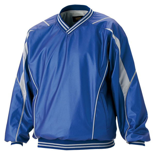 ZETT(ゼット) 野球 長袖Vネックジャンパー BOV410 2300 ブルー L【送料無料】