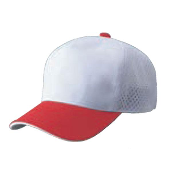 ZETT ゼット アメリカンバックメッシュベースボールキャップ 流行 BH167 野球 ベースボール カラー サイズ 1164 JFREE 53~56cm ホワイト×レッド ホワイト 正規店 アメリカンバックメッシュキャップ