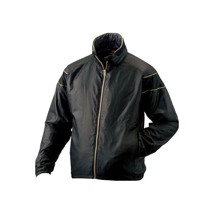 ZETT(ゼット) PROSTATUS ハイブリッドアウタージャケット ブラック BOG900 1900 サイズ:M 野球&ソフト グランドコート【送料無料】