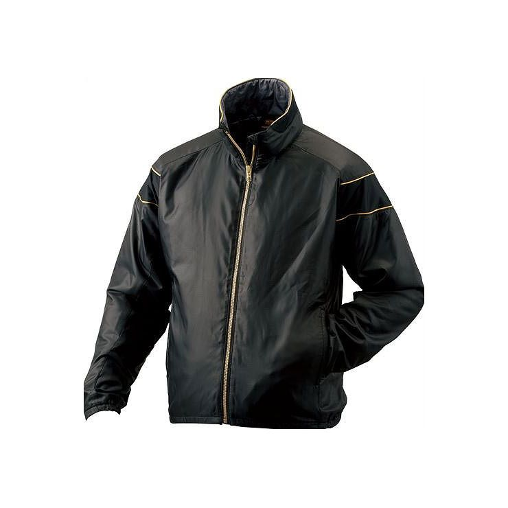 ZETT(ゼット) PROSTATUS ハイブリッドアウタージャケット ブラック BOG900 1900 サイズ:XO 野球&ソフト グランドコート【送料無料】