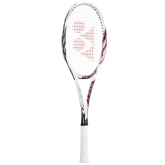 ヨネックス ソフトテニスラケット GSR 7(ジーエスアール 7) フレームのみ GSR7 【カラー】ホワイト×レッド 【サイズ】UXL1【送料無料】