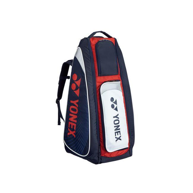 Yonex(ヨネックス) TOURNAMENT SERIES スタンドバッグ リュック付(テニスラケット2本用) BAG1819 【カラー】ネイビー×レッド【送料無料】