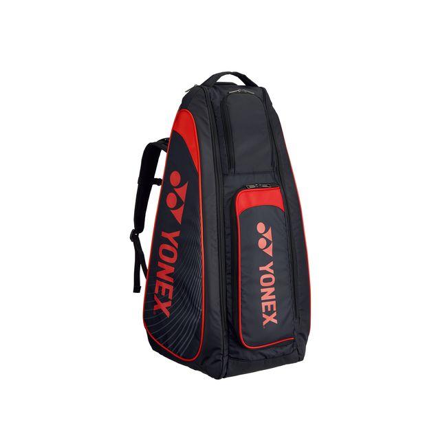 Yonex(ヨネックス) TOURNAMENT SERIES スタンドバッグ リュック付(テニスラケット2本用) BAG1819 【カラー】ブラック×レッド【送料無料】