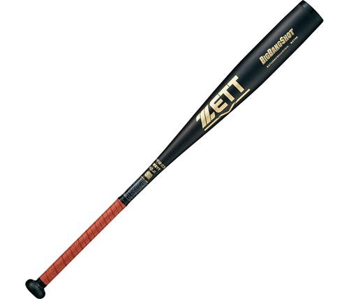 ZETT(ゼット) 中学硬式アルミバット ビッグバンショット ブラック 83cm BAT22683 【カラー】ブラック【送料無料】
