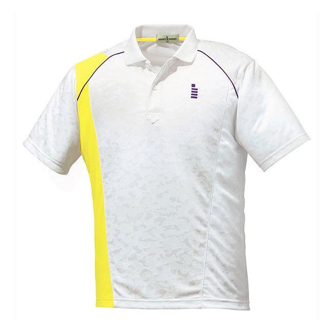 【送料無料】GOSEN(ゴーセン) ゲームシャツ T1500 【カラー】ホワイト 【サイズ】S GOSEN(ゴーセン) ゲームシャツ T1500 【カラー】ホワイト 【サイズ】S【送料無料】