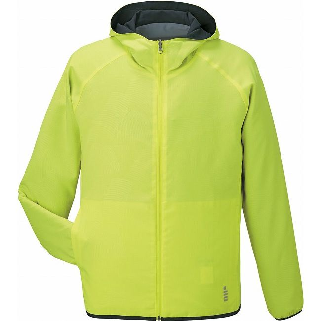 GOSEN(ゴーセン) Y1606 リバーシブルジャケット Y1606 【カラー】ネオンイエロー 【サイズ】LL【送料無料】