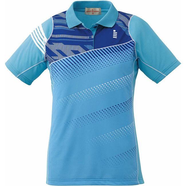 【送料無料】GOSEN(ゴーセン) T1611 レディースゲームシャツ T1611 【カラー】ライトブルー 【サイズ】LL GOSEN(ゴーセン) T1611 レディースゲームシャツ T1611 【カラー】ライトブルー 【サイズ】LL【送料無料】
