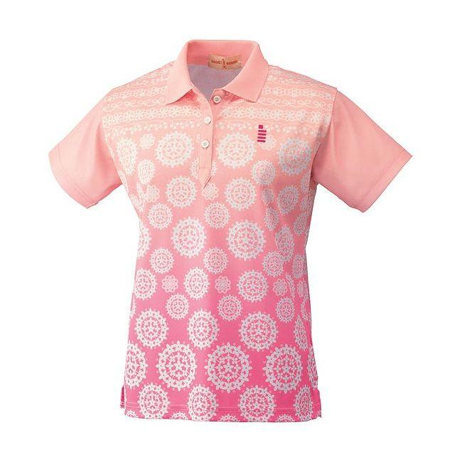 【送料無料】GOSEN(ゴーセン) T1401 レディースゲームシャツ T1401 【カラー】ピンク 【サイズ】L GOSEN(ゴーセン) T1401 レディースゲームシャツ T1401 【カラー】ピンク 【サイズ】L【送料無料】