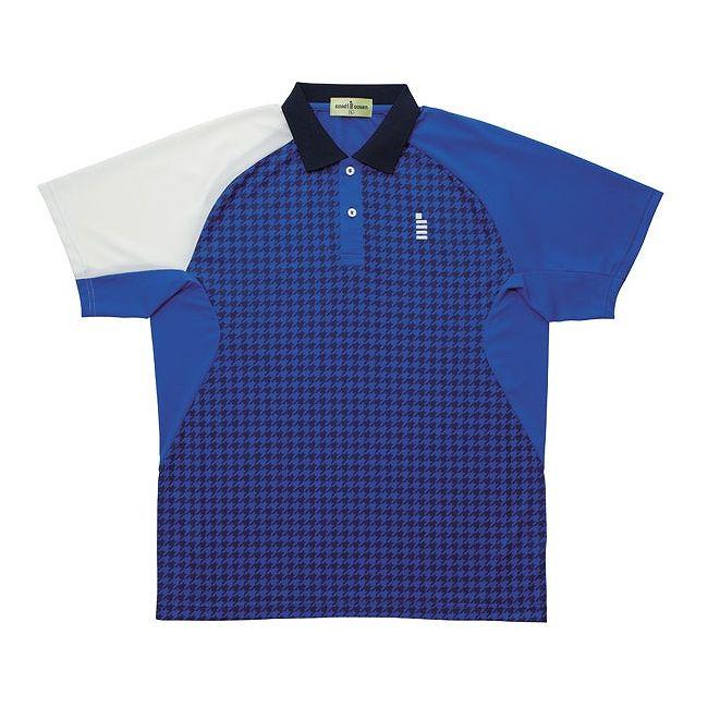 【送料無料】GOSEN(ゴーセン) T1408 ゲームシャツ T1408 【カラー】ブルー 【サイズ】M GOSEN(ゴーセン) T1408 ゲームシャツ T1408 【カラー】ブルー 【サイズ】M【送料無料】