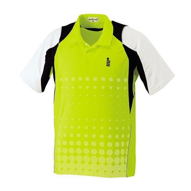 【送料無料】GOSEN(ゴーセン) T1412 ゲームシャツ T1412 【カラー】ライムグリーン 【サイズ】XL GOSEN(ゴーセン) T1412 ゲームシャツ T1412 【カラー】ライムグリーン 【サイズ】XL【送料無料】